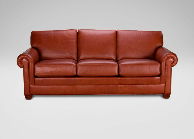 Conor Leather Sofa ,  , large_gray