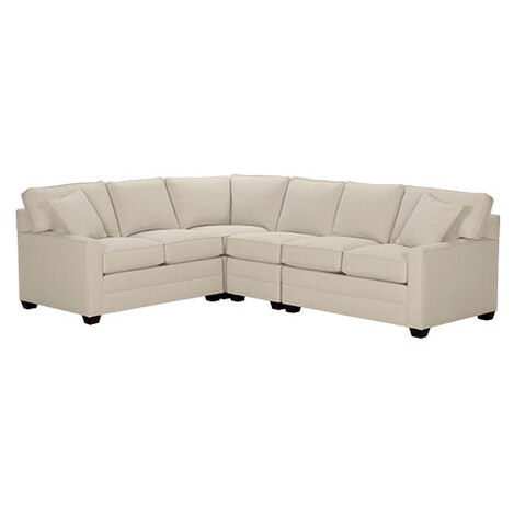 Bennett Track Arm Four Piece Sectional Quick Ship Large