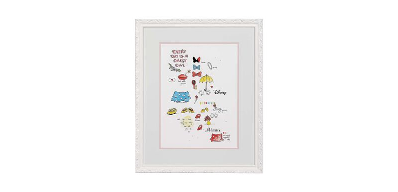Minnie Mouse Wardrobe Study
