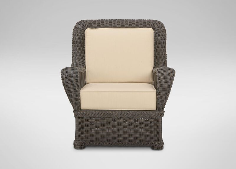 Lakehouse Lounge Chair , Hatcher Oatmeal (P4233) , large_gray