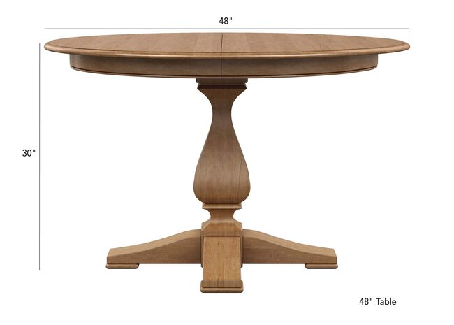 Cameron Round Dining Table Tables Ethan Allen