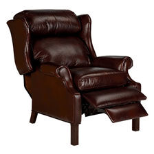 ... large Townsend Leather Recliner   hover_image  sc 1 st  Ethan Allen & Shop Recliners | Leather and Fabric Recliner Chairs | Ethan Allen islam-shia.org