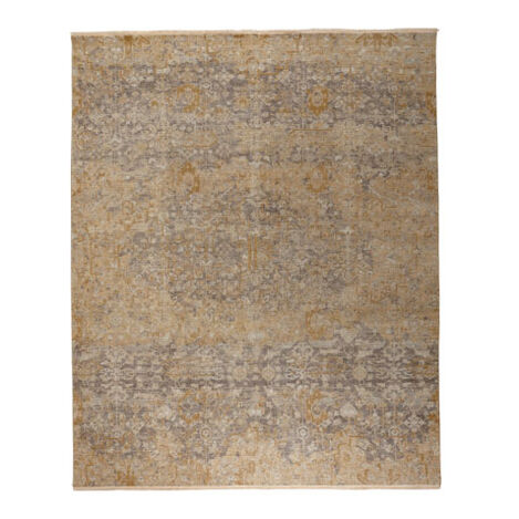 Oslo Rug, Gold/Grey ,  , large