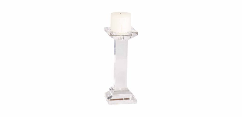 Large Crystal Candlestick
