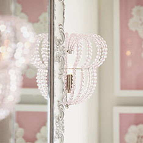 Minnie Mouse Beaded Wall Sconce  ,  , hover_image