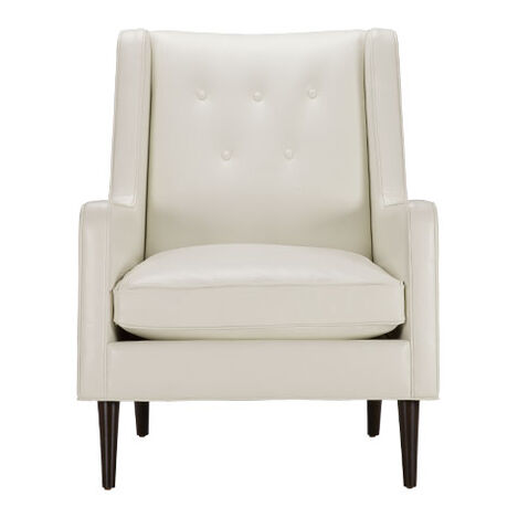 Ivery Leather Wing Chair Product Tile Image 722268