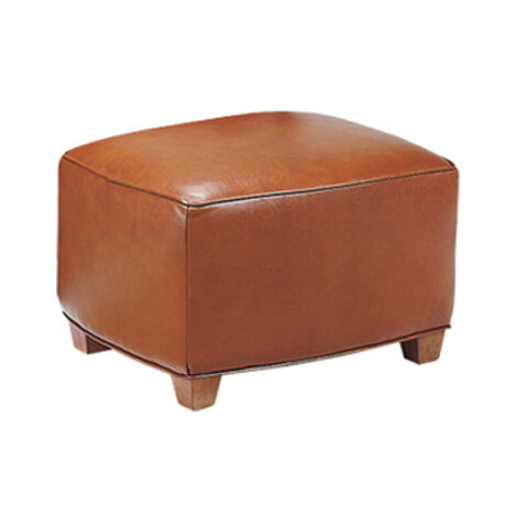 Bentley Leather Ottoman ,  , large