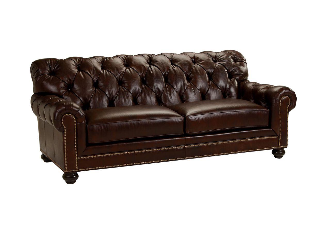 Chadwick Leather Sofa Sofas Amp Loveseats Ethan Allen
