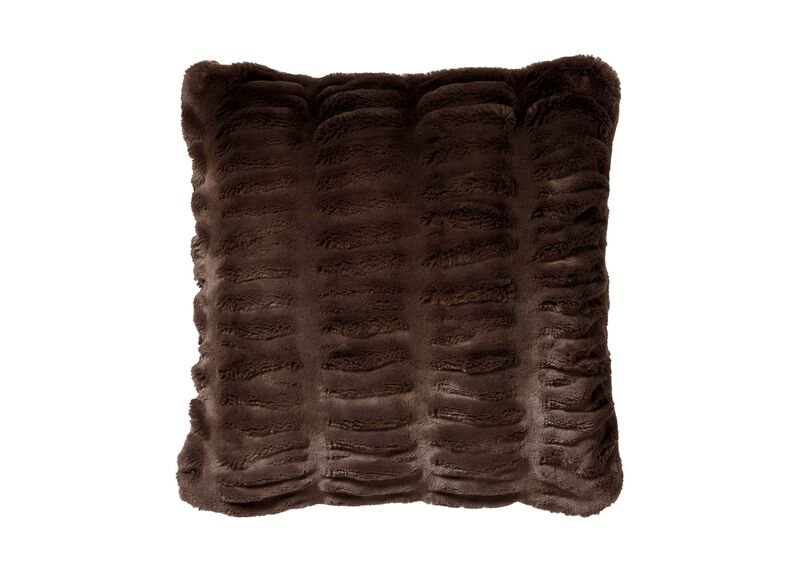 Faux Fur Mink Pillow ,  , large_gray