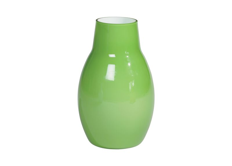 Ensemble Painted Vase, Green