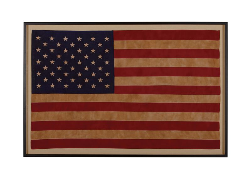 Vintage US Flag ,  , large_gray