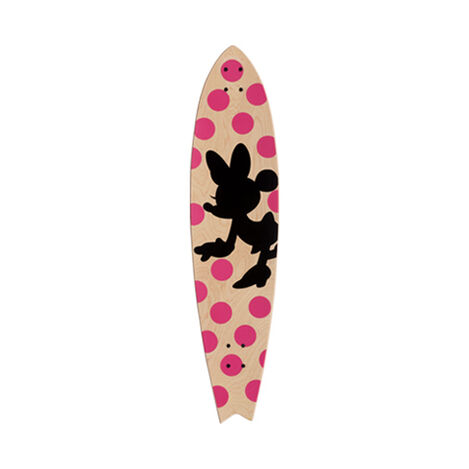 Minnie Mouse Longboard Wall Art III ,  , large