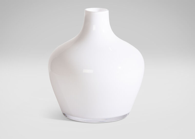 Small Milk Glass Vase ,  , large_gray