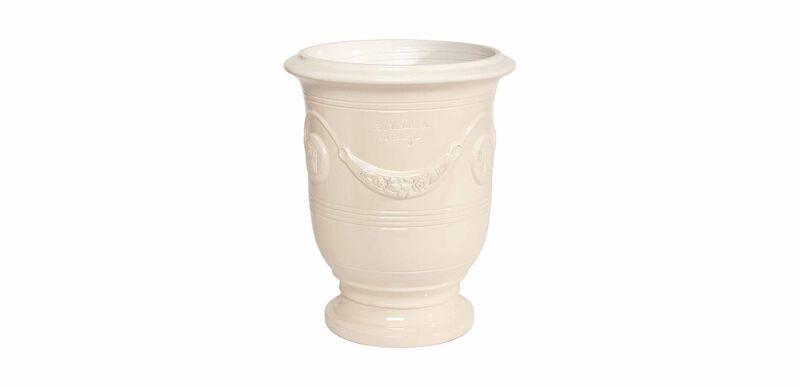 Anduze No.2 Ivory Planter