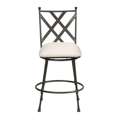 Biscayne Swivel Counter Stool ,  , large
