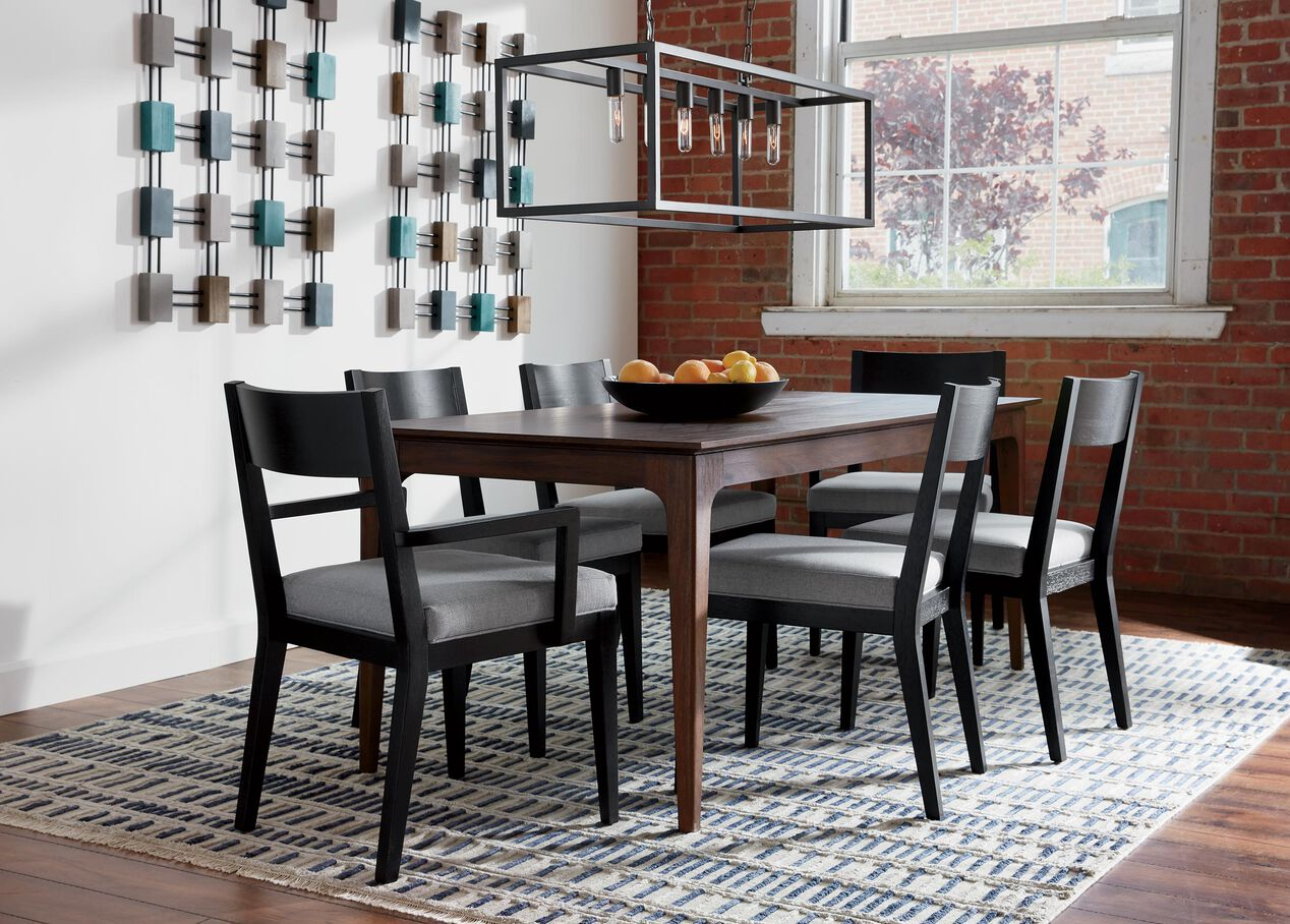 McKendrie Rectangular Wood Dining Table | Ethan Allen Dining ...
