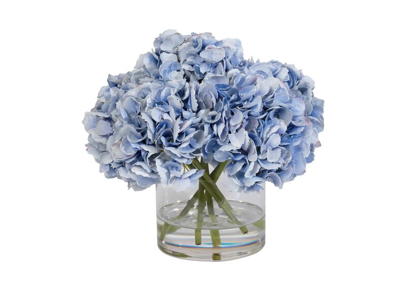 Blue Hydrangea Watergarden