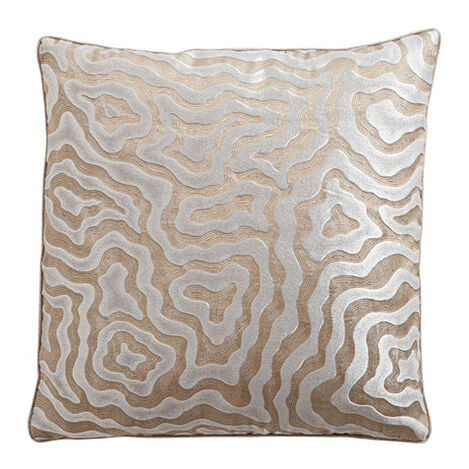 Wavy Jacquard Metallic Pillow ,  , large