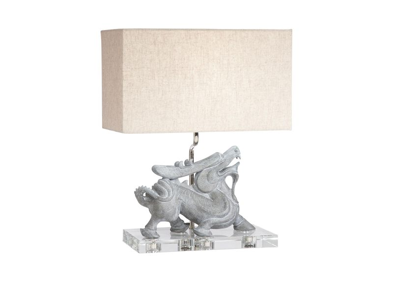 Foo Dragon Desk Lamp ,  , large_gray