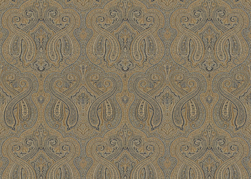 Marsyl Sapphire Fabric by the Yard