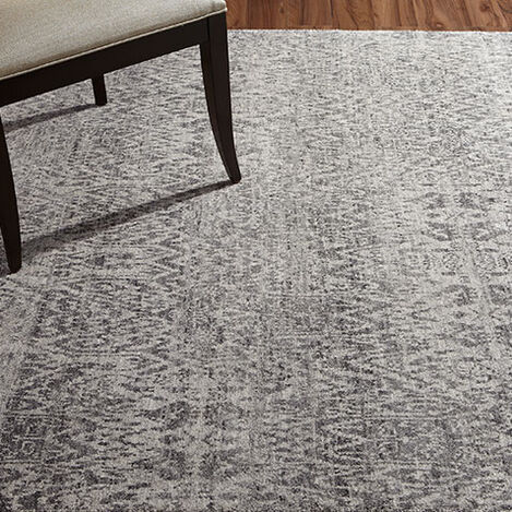 Ikat Rug, Gray/Ivory Product Tile Hover Image 041267