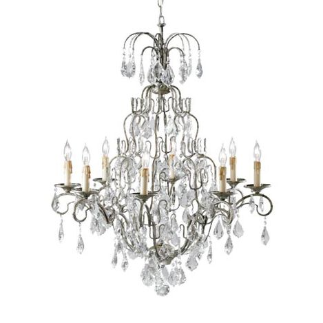 Eight Light Olympia Chandelier Product Tile Image 093682