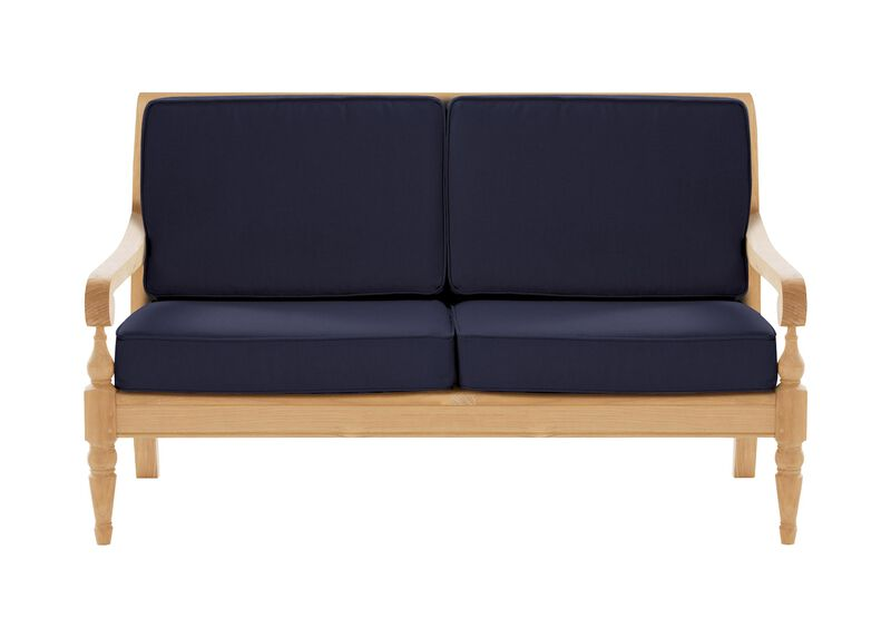 Millbrook Loveseat , Kean Navy (P8488) , large_gray