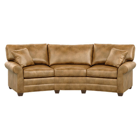 Bennett Conversation Leather Sofa