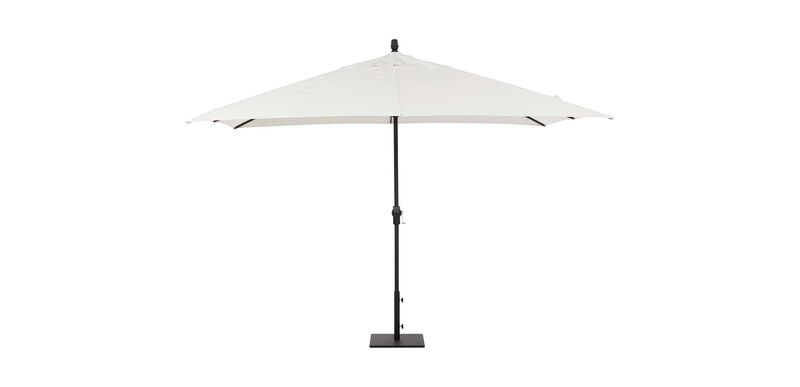 8 ft.x11 ft.Single Vent Umbrella White