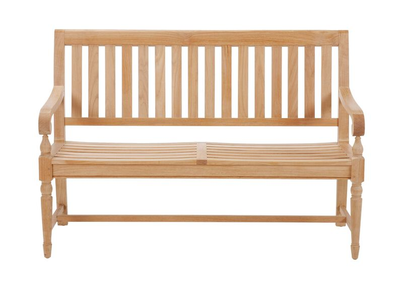 Millbrook Wood-Seat Garden Bench