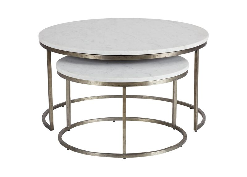 Bayliss Round Nesting Coffee Tables