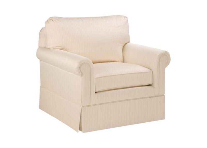 Paramount Panel-Arm Swivel Chair