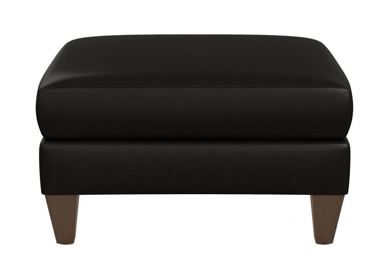 Monterey Leather Ottoman
