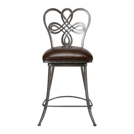 Dempsey Swivel Counter Stool ,  , large