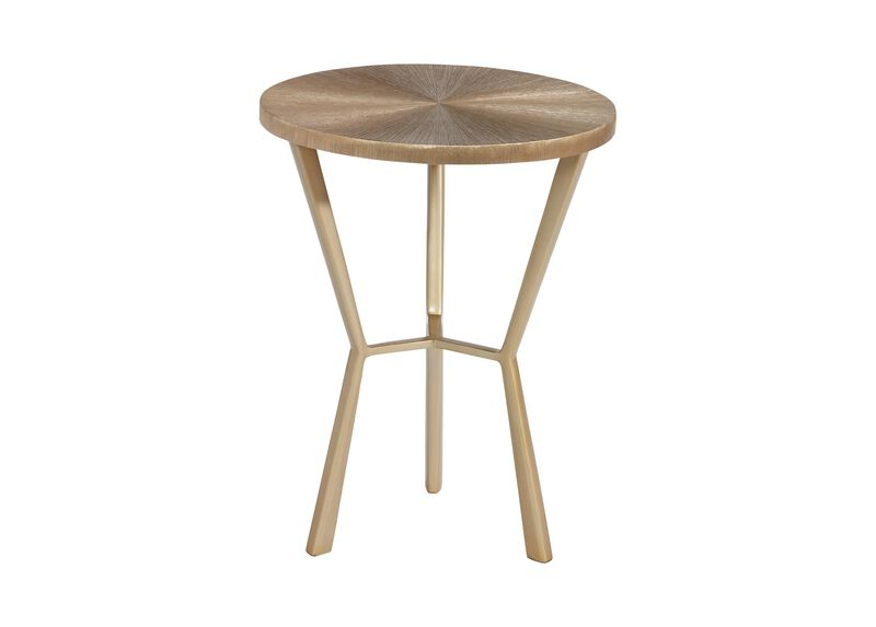 Tasha Aluminum Accent Table