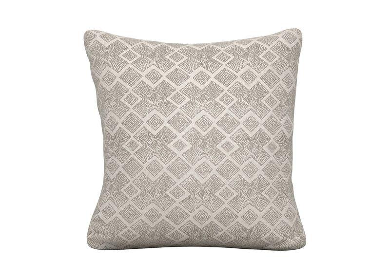 Distin Gray Outdoor Pillow | Tuggl