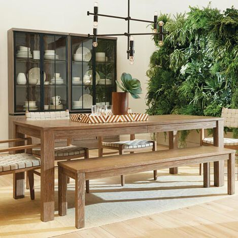 Vinson Oak Extension Dining Table Product Tile Hover Image 226514