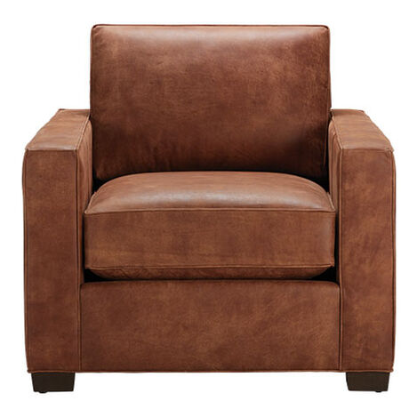 Spencer Track-Arm Leather Chair Product Tile Image spencerTAchairLTH