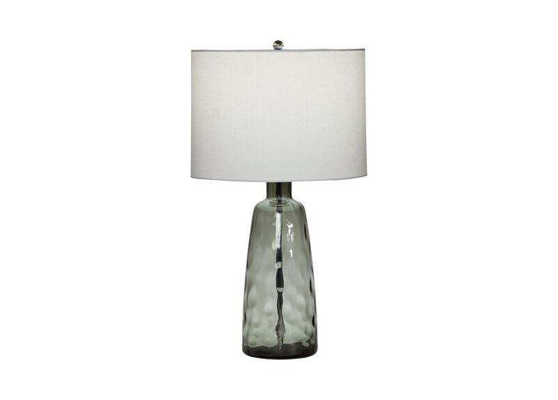 Tino Gray Glass Table Lamp