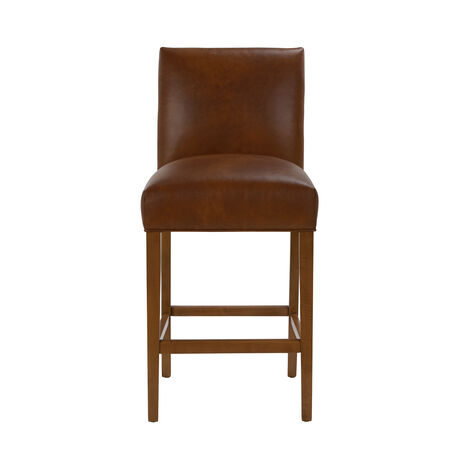 Thomas Leather Barstool ,  , large