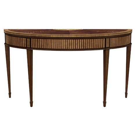 Newman Demilune Sofa Table, Saratoga ,  , large