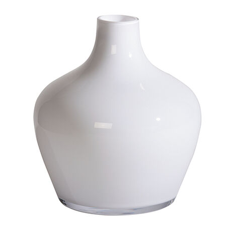 Small Milk Glass Vase ,  , large