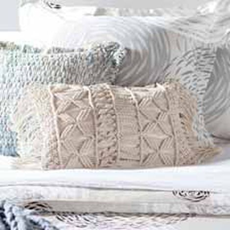 Macramé Fringed Pillow ,  , hover_image