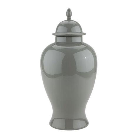 Large Gray Temple Jar ,  , large