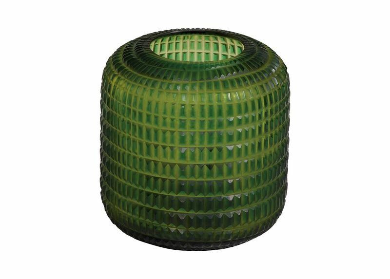 Small Lucira Emerald Vase ,  , large_gray