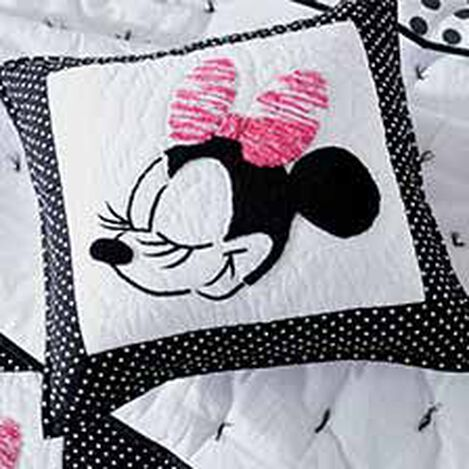 Mad about Minnie Mouse Pillow, Minnie Pink ,  , hover_image