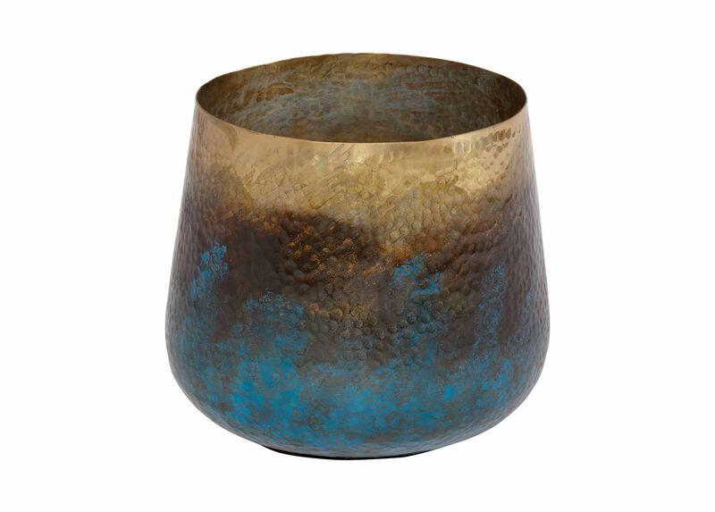 Patina Painted Vase