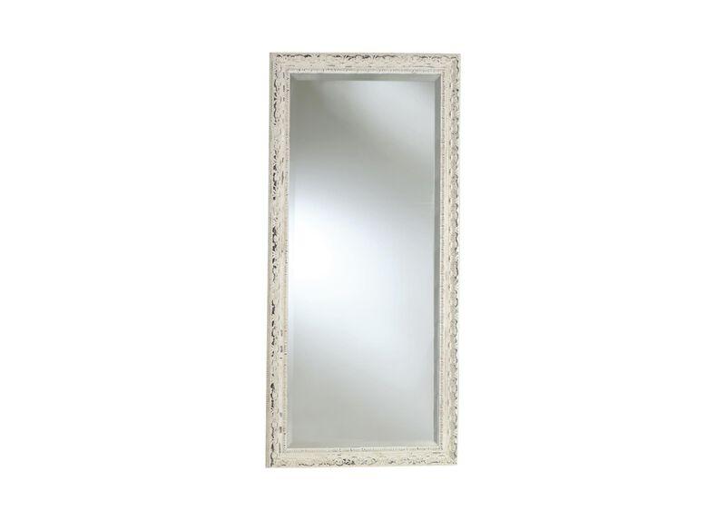 Decorative Carved Floor Mirror