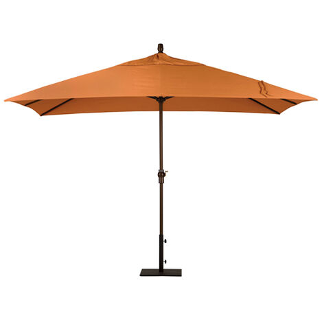 Tuscan Sun Rectangular Market Umbrella ,  , large