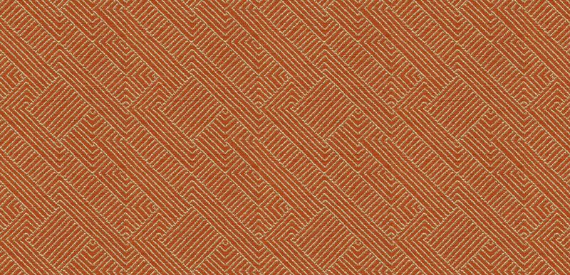 Hadi Tangerine Fabric By the Yard